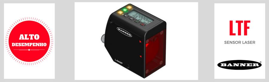Sensor de Medição Laser de AltoDesempenho